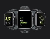 Apple Watch Nike Black/Cool Gray
