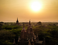 The ancient city of Bagan - Myanmar