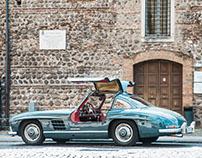 Mercedes 300Sl, Verona Aprile 2016