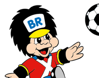 Illustrations for Top Toy mascot, 'Faetter BR'.