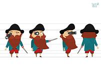 Estudo de Personagem 2D + Animação