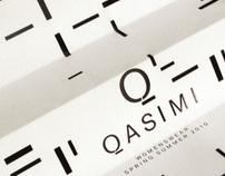 Qasimi - Womenswear SS10 Invites