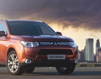 New Mitsubishi Outlander (picture for presentation)