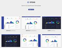 Stexo - Admin & Dashboard Template