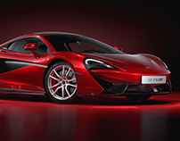 McLaren 570S – Full CGI