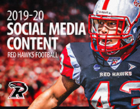 Red Hawks Football Social Content 2019-20