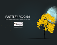 Fluttery Records Ident