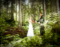 Lindsay & Josh; Wedding in the Forest