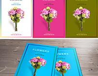 Flower Shop FREE PSD Flyer Template