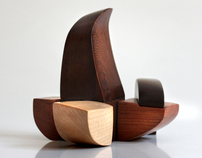 Gehry Wooden Puzzle Toy