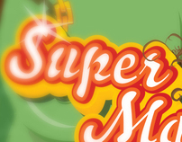 SuperMarbles / illustration, Branding