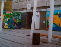Murals for Penge High Street Regeneration 1999