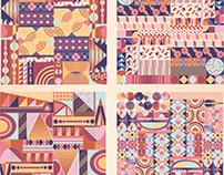 Geometric pattern elements