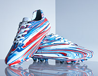 The Fusion Series   Art Football Boots - Rangers FC