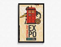 2015 Ottawa Pop Expo | Poster Design