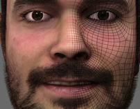 Human Head Model WIP