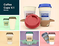 Coffee Cups V.1 Mockup