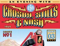Crosby, Stills & Nash Concert Merch.