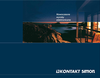 Kontakt Simon - layout design