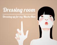 Dressing room // Flash