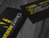 VenomGraphics Business Card Design
