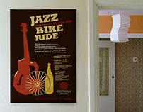 Retro funky JAZZ poster