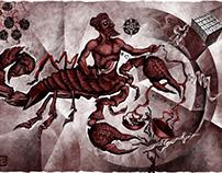 Scorpio and Libra