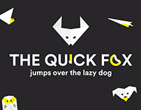 The quick fox - Experimental Web Project