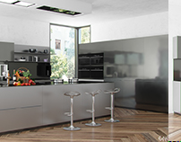 Contemporary Kitchen Stainless Steel