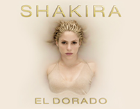 "SHAKIRA ""EL DORADO"" DISCO PLATINO COLOMBIA"