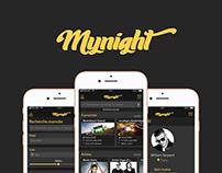 Mynight app | UX/UI Design