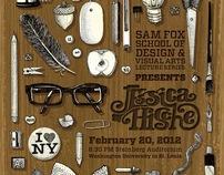Jessica Hische Lecture Poster