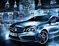 Mercedes-Benz - Mapping Olomouc