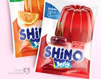 ShirinAsal shino jelly powder packaging design