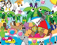 Tile Pattern Design for kids