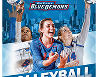 DePaul Volleyball Poster