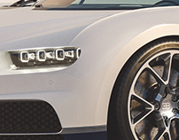 Bugatti Chiron (minimal environment)