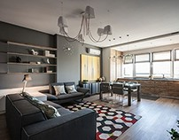 Dnepropetrovsk Apartment by SVOYA Studio