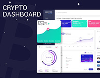 Blockchain Dashboard, Crypto Wallet