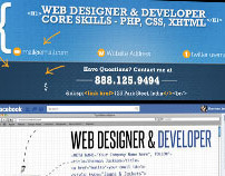 Facebook Timeline Covers for a Web Designer & Developer
