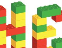 Typographie Lego