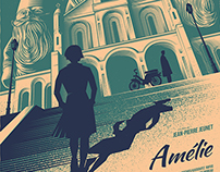 AMÉLIE Movie Poster For Spoke Art Gallery