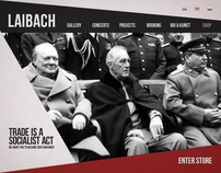 LAIBACH WEBSITE -  Redesign
