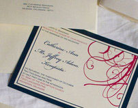 Wedding Invitations: Jeff and Cath