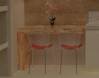 Cozinha Apartamento [Arquitetura Digital]