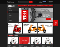 Motocycle eCommerce Website