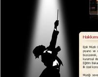 Maria Rita Epik Music School Web Interface Design