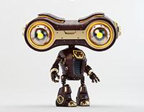 Retro look-see robot