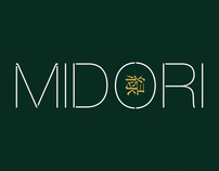 Midori branding and packaging