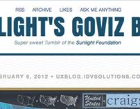 Sunlight's GoViz Tumblr